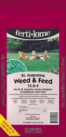 Ferti-lome Weed & Feed St. Augustine 32 lb