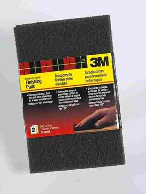 3M 6 in. L Finishing Pad 00 Coarse