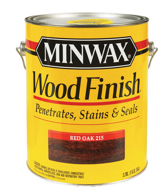 Minwax Wood Finish Transparent Oil-Based Wood Stain Red Oak 1 gal.