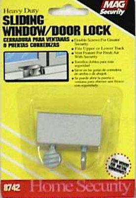 Mag Security Thumb Patio Lock 5.4 in. x 3.8 in. x 0.6 in. Aluminum Aluminum 1/Carded