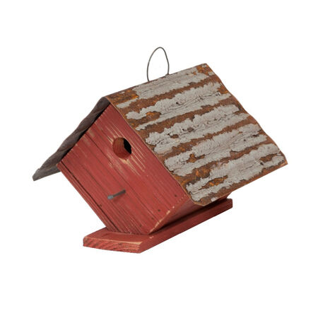 Home Bazaar 7-1/4 in. H Wood Birdhouse