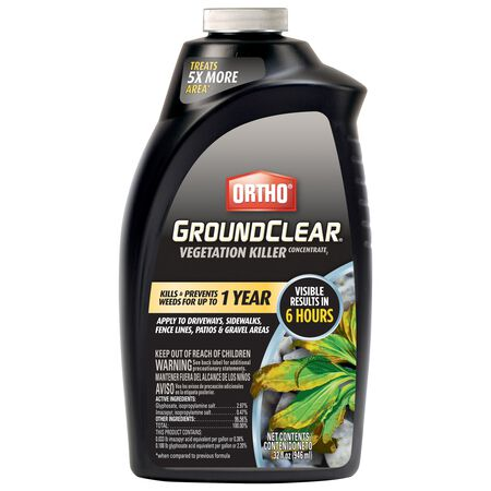 Ortho GroundClear Vegetation Killer Concentrate Liquid 32 oz.