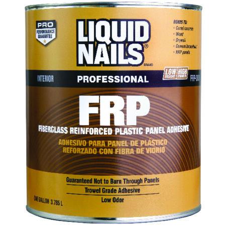 Liquid Nails FRP Fiberglass Reinforced Plastic Panel Adhesive 1 gal.