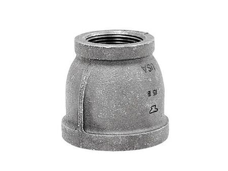 Anvil 1-1/4 in. Dia. x 1/2 in. Dia. FPT To FPT Galvanized Malleable Iron Reducing Coupling