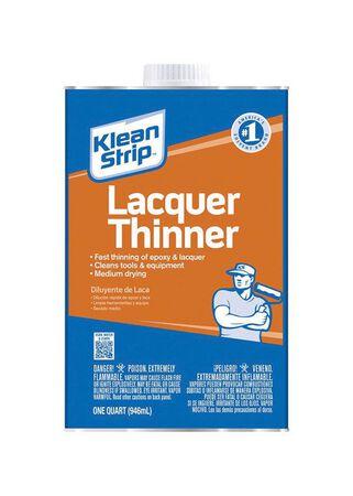 Klean Strip Lacquer Thinner 1 qt.