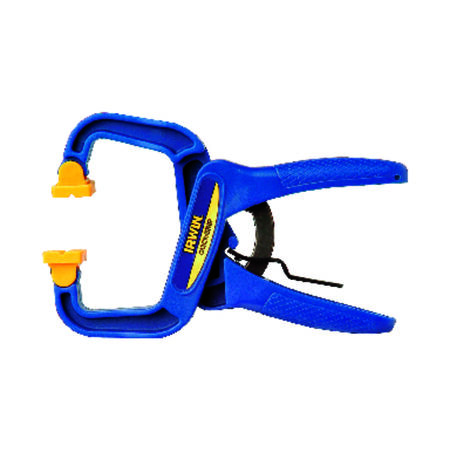 Irwin Quick-Grip Resin Locking Handi-Clamp 1-1/2 in. D
