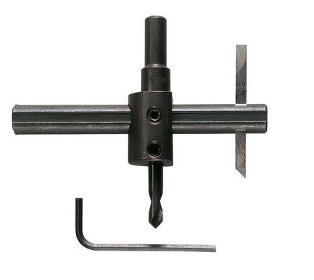 General Tools 3/8 in. Dia. x 1 in.-6 in. Dia. Bi-Metal Circle Cutter