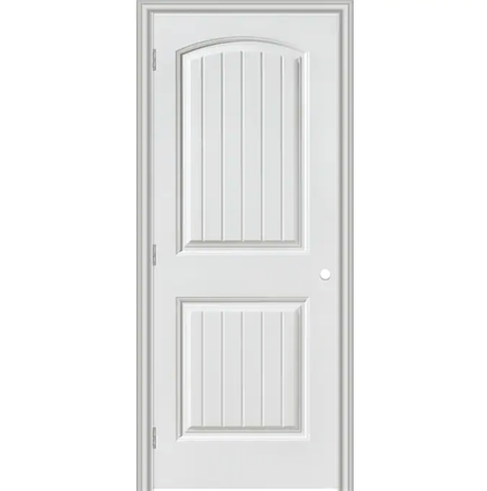 "Masonite cheyenne 30""x80"" primed smooth hollow core right hand single prehung interior door"
