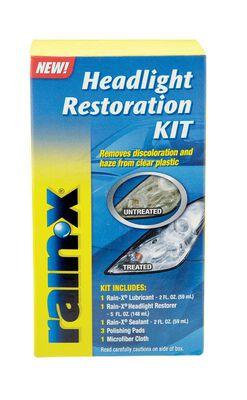 Rain-X Headlight Restoration Kit 1