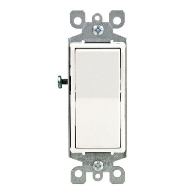 Leviton Decora 15 amps Rocker Switch Single Pole
