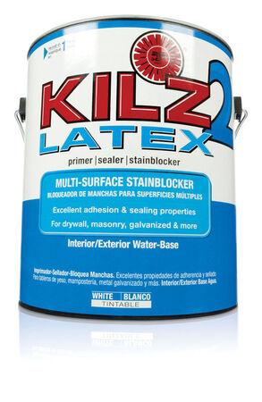 KILZ White Water-Based Primer and Sealer 1 gal.