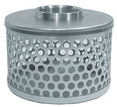 Abbott Rubber 2 in. Plated steel Suction Hose Strainer