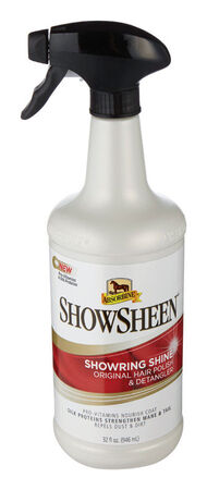 Absorbine Showsheen Hair Polish and Detangler For Horse 32 oz.