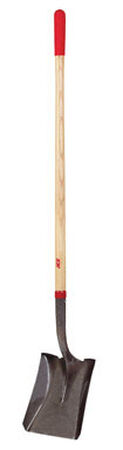 Ace 47 in. L Steel Square Point Shovel Wood Long Handle