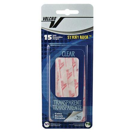Velcro 7-1/4 in. L x 5/8 in. W Hook and Loop Fastener 15 pk