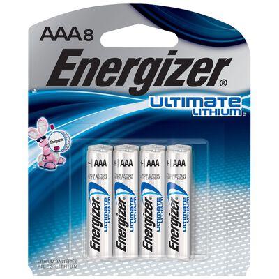 Energizer AAA Lithium Batteries 8 pk