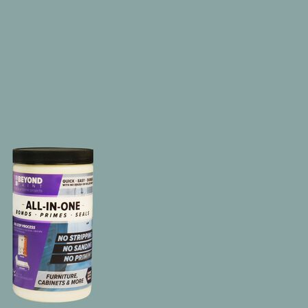 BEYOND PAINT Matte Nantucket Water-Based Acrylic All-In-One Paint 1 qt.