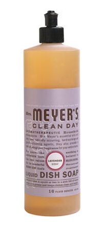Mrs. Meyer's 16 oz. Lavender Scent Liquid Dish Soap