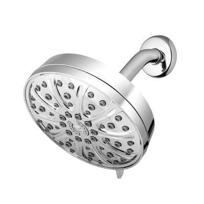 Waterpik Drencher PowerPulse Massage Chrome 6 settings Wallmount Showerhead 1.8 gpm