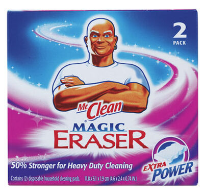 Mr. Clean For Multi-Purpose Extra Power Magic Eraser 2.4 in. W x 4.6 in. L 2 pk