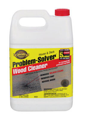 Cabot Problem-Solver 1 gal. Deck Wood Cleaner
