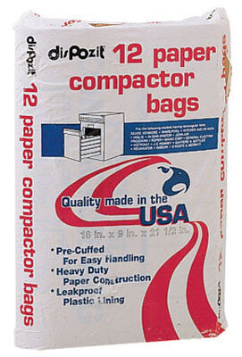 Kitchen Master Compactor Compactor Bags 12 pack