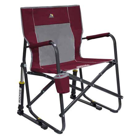 GCI Outdoor Cinnamon Freestyle Rocker Folding Chair