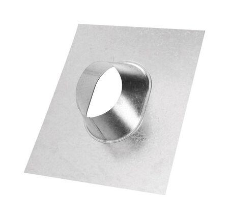 Selkirk 4 in. Dia. Aluminum Galvanized Adjustable Roof Flashing