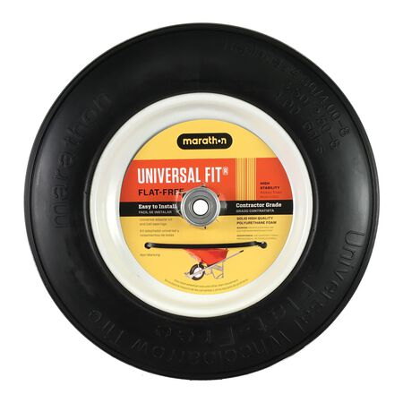 Marathon Wheelbarrow Tire 14.5 in. Dia. 300 lb.