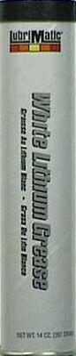 Lubrimatic White Lithium Grease 14 oz. Cartridge
