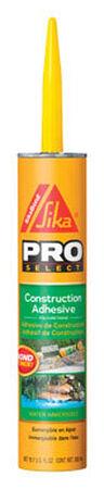 SikaBond Pro Select Construction Adhesive 10.1 oz.