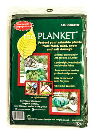The Planket Plant Protector Blanket 6 ft.