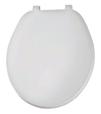 Mayfair Plastic Toilet Seat Round White