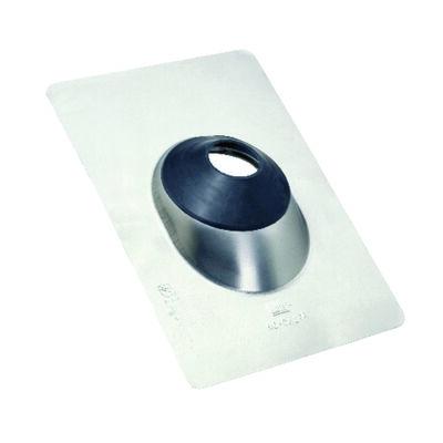Oatey No-Calk Galvanized Steel Roof Flashing Silver 12-1/2 in. H x 12-1/2 in. L x 9 in. W Roof