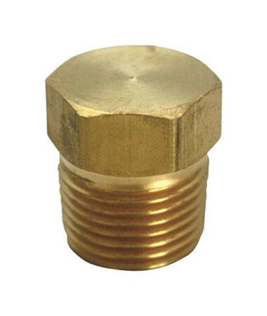 Ace 3/8 in. MPT x 3/8 in. Dia. Compression Compression Yellow Brass Hex Head Plug