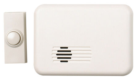 Heath Zenith White Wireless Door Chime Kit