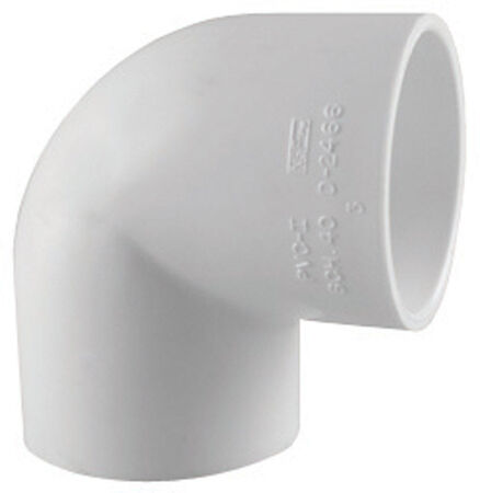 Charlotte Pipe Schedule 40 Slip To FPT 1/2 in. Dia. x 1/2 in. Dia. 90 deg. PVC Elbow
