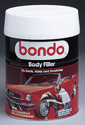 Bondo Auto Body Filler 1 gal. For Metal Wood Masonry & Fiberglass
