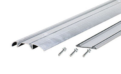 M-D Building Products Low Threshold 3 in. W x 36 in. L Silver