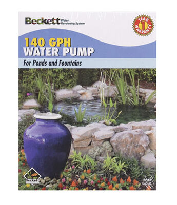 Beckett Plastic Fountain Pump 1/2 in. W 159 gph