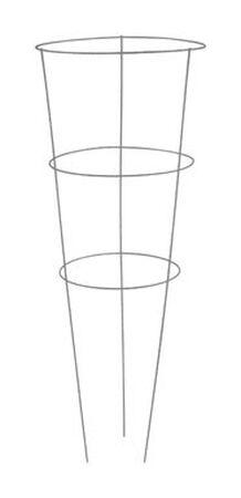 Glamos Gray Galvanized Wire Tomato Cage 42 in. H x 42 in. L x 16 in. W