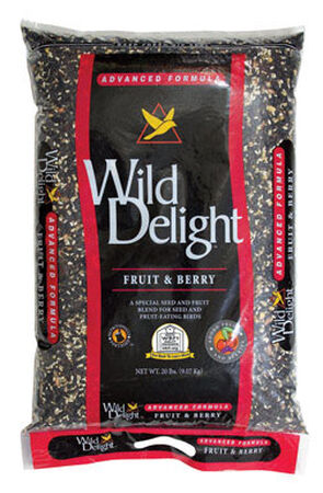 Wild Delight Advanced Formula Assorted Species Wild Bird Food Fruit 'N Berry 20 lb.