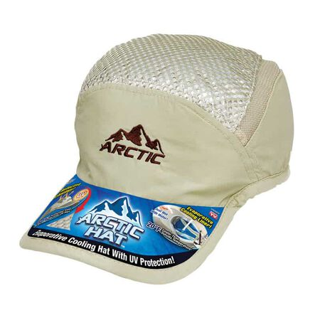Arctic Hat Evaporative Cooling Cap Polyester/Polyethylene 1 pk