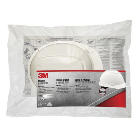 Tekk White Hard Hat Polyethylene