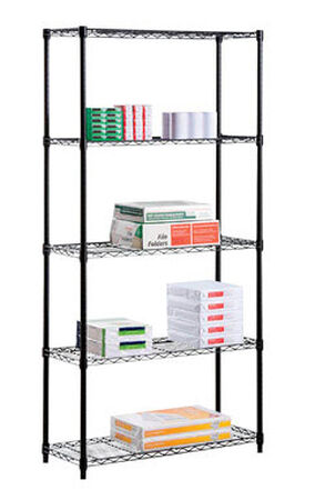 Honey Can Do 72 in. H x 16 in. W Steel Shelving Unit
