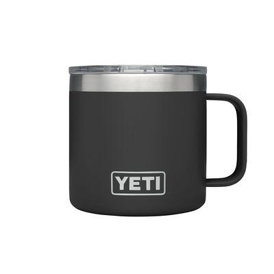 YETI Rambler Stainless Steel Insulated Mug Black 14 oz. 1 pk