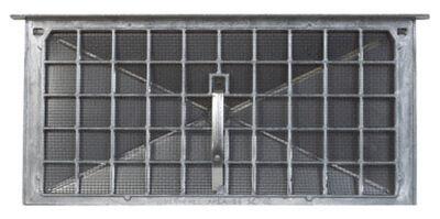 Air Vent 7.8 in. H Aluminum Foundation Vent