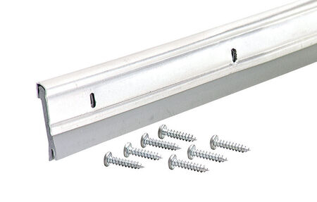 M-D Building Products Door Bottom Aluminum Door Sweep 36 in. L x 1/4 in. Silver
