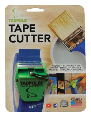 Tadpole 1-1/2 in. W Tape Cutter