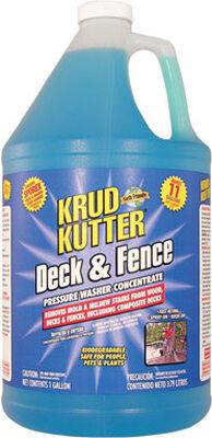 Krud Kutter Deck & Fence 1 gal. Pressure Washer Concentrate